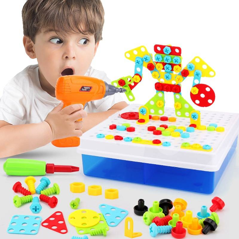 https://hotstarstore.com Kid's Electric Construction and Assembly Kit Hot Star Store