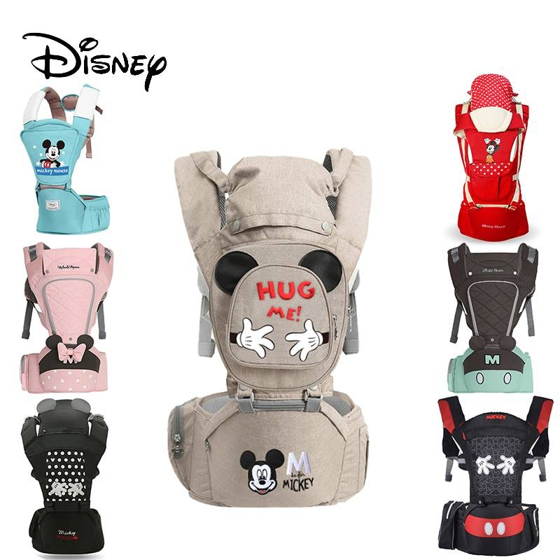 https://hotstarstore.com Disney Ergonomic Baby Carrier Infant Kid Baby Hipseat Sling Front Facing Kangaroo Minnie Baby Wrap Carrier For Baby Travel Hot Star Store
